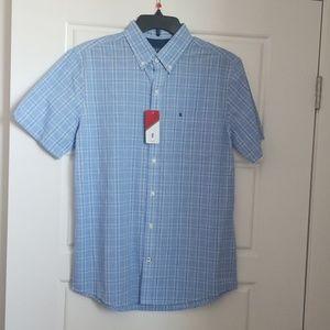 Izod Short Sleeve Button Down Shirt